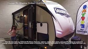 Shadow Cruiser Floor Plans Cruiser Rv Shadow Cruiser Ultra Lite Sc 195wbs Youtube