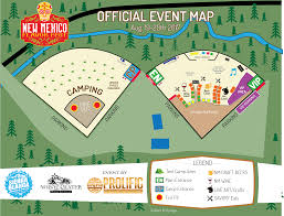 Ruidoso New Mexico Map by Map U0026 Activities New Mexico Flavor Fest