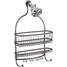 Shower Accessories Interdesign York Lyra Jumbo Shower Caddy Walmart Com