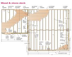 deck plans how to build a wood and deck handyman