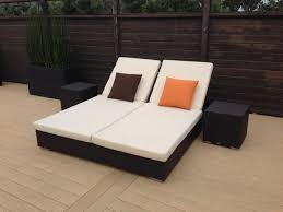loveseat chaise lounge sofa outdoor double chaise lounge design u2014 the homy design