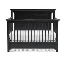 Black 4 In 1 Convertible Crib Ti Amo Palazzo 4 In 1 Convertible Crib Black Onyx Babies R Us