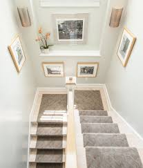 floor grey painted wall design ideas with cool carpet runners for