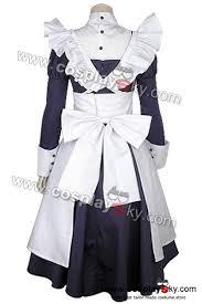 Halloween Butler Costume Black Butler Kuroshitsuji Maylene Cosplay Costume Dress