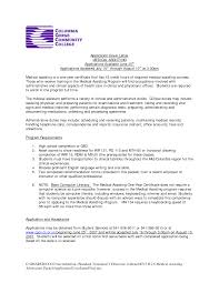 Cover Letter Example For Students Cover Letter Sample Medical Assistant Sample Of Cover Letter For