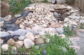 Backyard Pond Building Pond Design Gone Wrong U2013 The Pond Digger