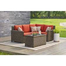 Outdoor Sectional Sofa Outdoor Sectionals Outdoor Lounge Furniture The Home Depot
