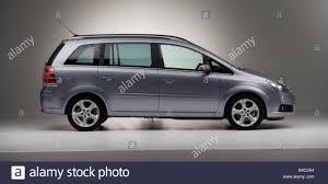 opel van car opel zafira van model year 2005 silver standing
