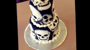 Halloween Skull Cakes by Skull Cake Design By Paisley Cakes Blackfoot Id Youtube