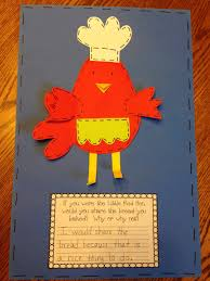 Thanksgiving Writing Prompts First Grade First Grade Sugar Little Red Hen Craftivity And Writing
