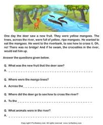english comprehension worksheets for class 1 all worksheets free