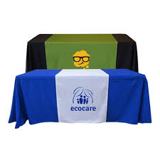 trade show table runner customized table runners cheap trade show table runners bestofsigns
