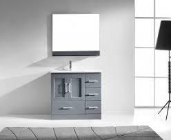 Single Bathroom Vanity Set Modern Bathroom Vanities Visualizeus