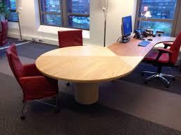 bureau rond bureau rond eiken verschillende olie te boveldt meubelmakerij
