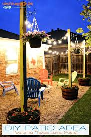 post to hang string lights post to hang string lights patio area with l posts ewakurek com
