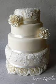 lace wedding cakes lace wedding cakes 7 stylish