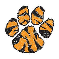 paw temporary glitter tiger stripes s