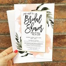 etsy wedding shower invitations best 25 bridal shower invitations ideas on bridal
