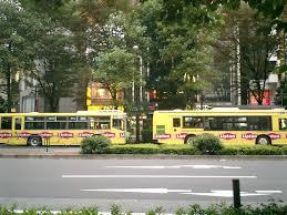 November Tokyo by File Toei Bus Lipton Ikebukuro Tokyo 9 November 2003 Jpg