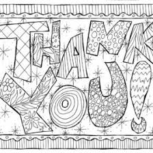 printable thank you card coloring page archives mente beta most