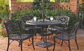 Iron Patio Dining Set Patio U0026 Pergola Black Round Classic Iron Patio Table Chairs