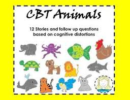 cbt animals stories and worksheets to teach children about picmia