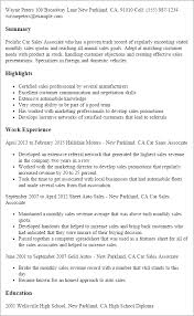 sample resume for salesperson images example resume sample resume