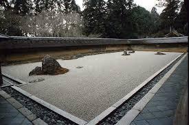 japanese rock garden 枯山水 karesansui