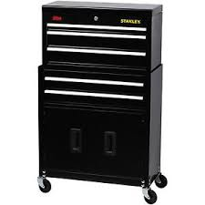 stanley tool chest cabinet stanley rolling tool chest box cabinet storage drawer toolbox garage