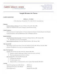 Nursing Resume Examples With Clinical Experience by Hospice Nurse Resume Examples Contegri Com