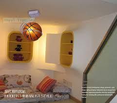 Sports Light Fixtures Ceiling L Basketball Simple Bar Hanging Light Children