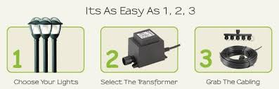 12 volt transformer for led lights techmar low voltage garden lights 12v plug play led outdoor
