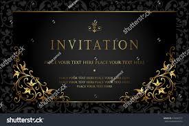 Invitation Card Design Invitation Card Design Stock Vector 518342737 Shutterstock