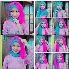 tutorial jilbab dua jilbab 15 tutorial hijab segi empat dua warna simple terbaru hijabyuk com
