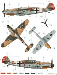 bf 109g 2 trop jg 27 color profile and paint guide added ww2