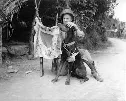 Okinawa Japan Flag Photo Us Marine Corporal Harold Flagg And His War Dog Boy Posing