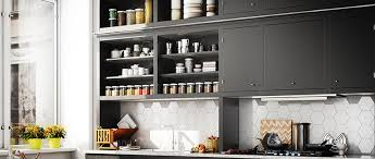open kitchen cabinets 11 open shelving kitchen ideas benefits and alternatives