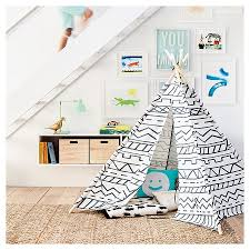 target stow black friday hours southwestern teepee gray white pillowfort target baby