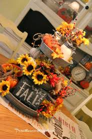 decorations for thanksgiving priscillas fall galvanized centerpiece halloween fall