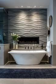 New Waves Bathtub Mountain Contemporary Custom Home Master Tub Contemporary