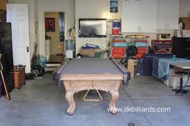 gray in the garage dk billiards pool table sales u0026 service