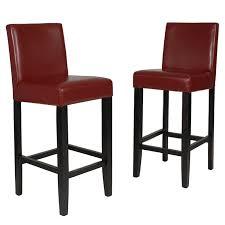 Comfortable Bar Stools With Backs Amazon Com Roundhill Furniture Citylight Bar Height Barstools