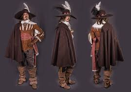 male outerwear 17th 18th medieval design