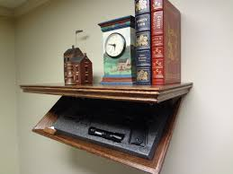 Bookcase With Lock 23 Concealment Shelf Oak With Magnetic Lock 23m Timbuck2 Red
