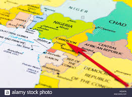 Map Of Cameroon Cameroon Map Stock Photos U0026 Cameroon Map Stock Images Alamy