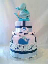 baby shower whale theme 3 tier whale themed cake cornerstorkbakery