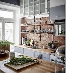 eclectic kitchen ideas best 25 kitchen brick ideas on exposed brick kitchen