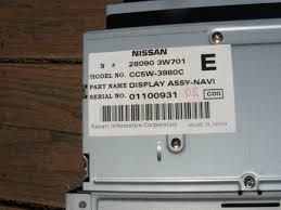 nissan pathfinder japan name 01 04 qx4 pathfinder navigation unit nissan forum nissan forums