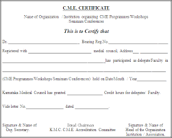 cme certificate template 10 best images of online medical