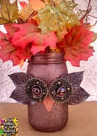 easy fall crafts diy home decoration ideas for rally owl mason jar